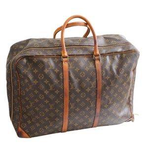 Louis Vuitton Monogram Sirius Suitcase Luggage 50